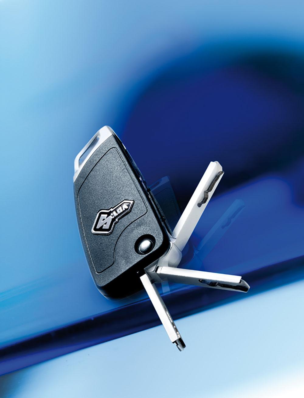 Auton avaimet
